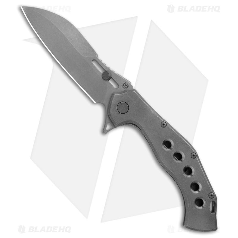 Olamic-Cutlery-Soloist-Scout-Frame-Lock-Knife-Titanium--4.3--Dark-Wash-