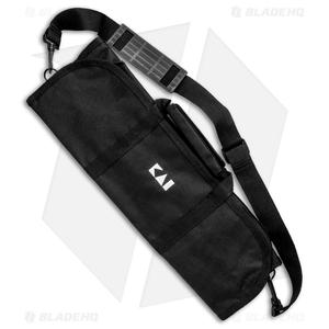 KAI 8 Slot Padded Knife Case - Black KA0880