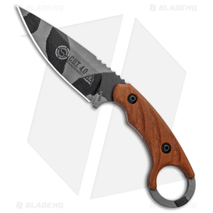"TOPS Knives C.U.T. 4.0 Combat Utility Tool Knife Micarta (4.25"" Urban Camo)"