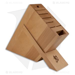Shun 8-Slot Kickstand Kitchen Knife Block - DM0838