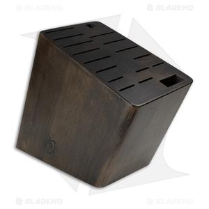 Shun 17-Slot Angled Kitchen Knife Block - DM0848