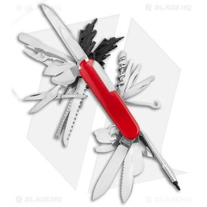 Victorinox Swiss Champ XXL Swiss Army Knife Red