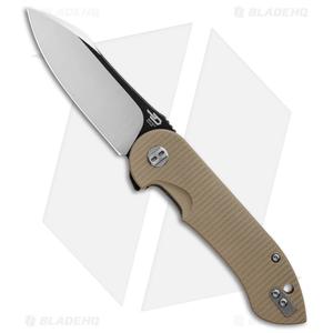 "Bestech Knives Torpedo Liner Lock Knife Tan G-10 (3.13"" Two-Tone) BG17B-2"
