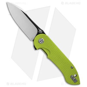 """Bestech Knives Torpedo Liner Lock Knife Green G-10 (3.13"""" Two-Tone) BG17C-2"""