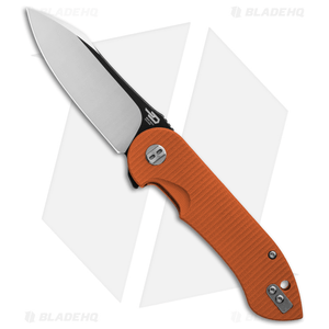 """Bestech Knives Torpedo Liner Lock Knife Orange G-10 (3.13"""" Two-Tone) BG17D-2"""