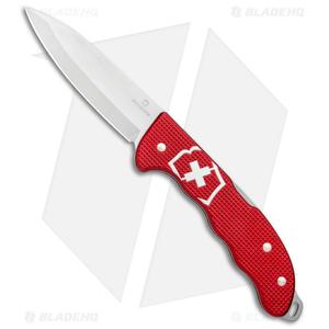 "Victorinox Hunter Pro Alox Lockback Knife Red Aluminum (3.8"") 0.9415.20"