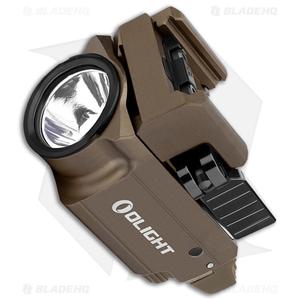 Olight BALDR RL Mini Tactical LED Flashlight Desert Tan (600 Lumens)