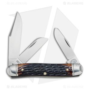 "GEC #66 Northfield UN-X-LD Calf Roper Pocket Knife 3.3"" Hemlock Jig Bone 661317"