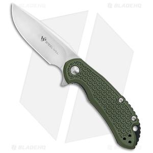 """Steel Will Knives Cutjack Mini Flipper Knife OD Green FRN (3"""" Satin) C22M-1OD"""