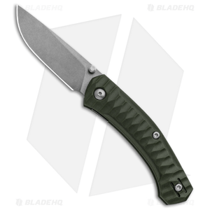 GiantMouse Vox/Anso ACE Iona Liner Lock Knife OD Green FRN (Stonewash M390)