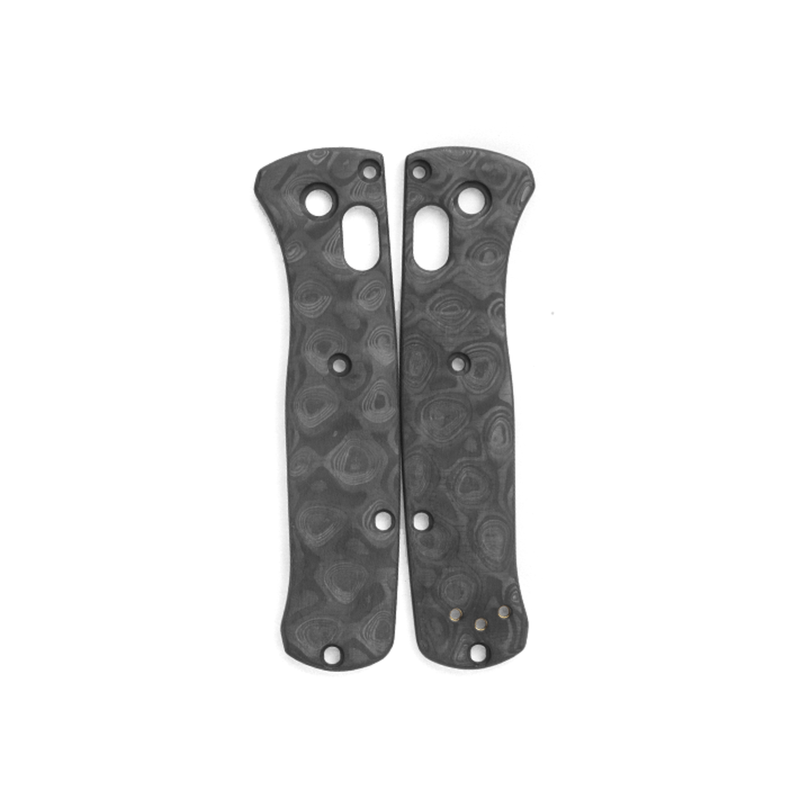 Raindrop-Carbon-Fiber-Scales-for-Benchmade-Mini-Bugout-Knife