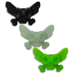Dead-Fly-Society-Silicone-Bead-3-Pack---Black-Green-Glow