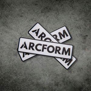 Arcform Classic Sticker Logo
