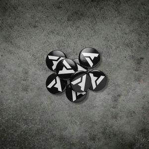 """Arcform """"A"""" Button Pin"""