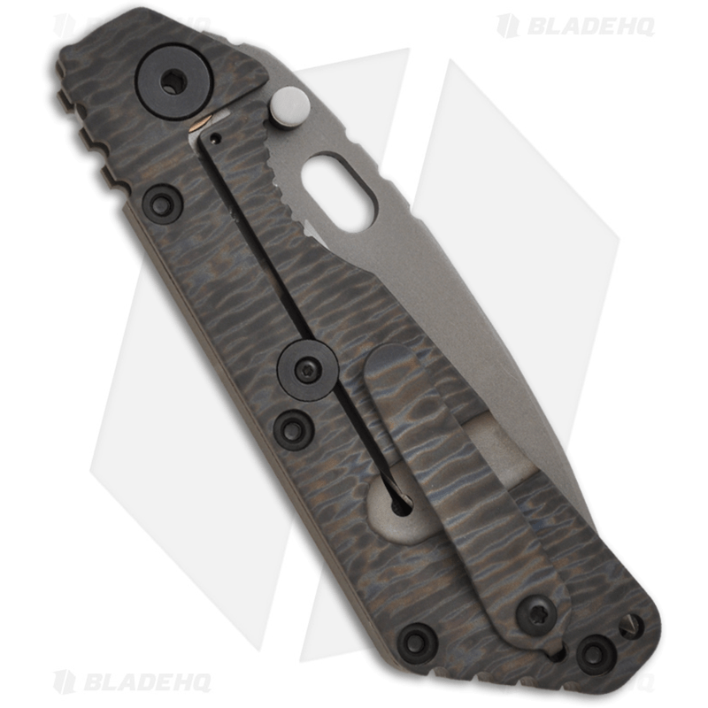 Strider-Knives-Duane-Dwyer-Custom-Razor-Wire-SMF-Green-G-10-Folder--3.9--Plain-