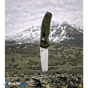 "Gerber Propel Downrange Automatic Knife OD Green (3.5"" Stonewash)"