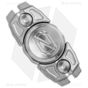 Stedemon Z07 Two Leaves Fidget Spinner Titanium (Bead Blast)
