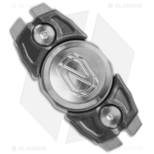 Stedemon Z07 Two Leaves Fidget Spinner Stainless Steel (Black)