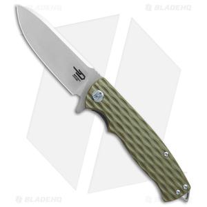 """Bestech Knives Grampus Liner Lock Knife OD Green G-10 (3.5"""" Satin)"""