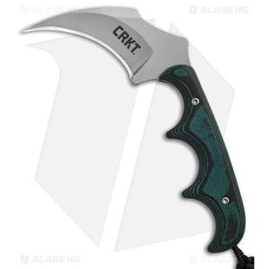 """CRKT Folts Minimalist Keramin Fixed Blade Knife (2.31"""" Bead Blast) 2389"""