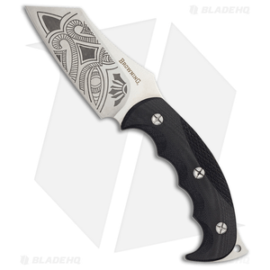"Browning Black Label Wihongi Signature Fixed Blade Knife (3.75"" Gray) 320197BL"