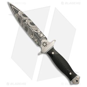"Browning Black Label Wihongi Signature Dagger Fixed Blade Knife (5.875"" Satin)"