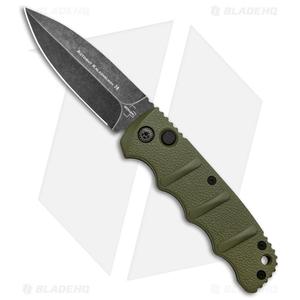 "Boker Kalashnikov Dagger Automatic Knife OD Green (3.25"" Smokewash D2)"