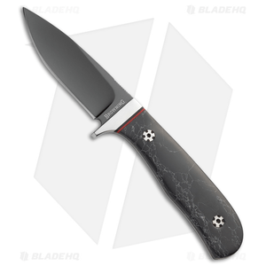 """Browning Devil's Due Fixed Blade Knife Black Marble Polymer (3.375"""" Black)"""