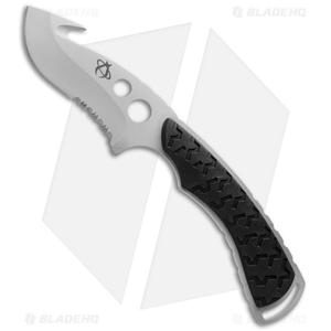 """Mantis Backbone Knife Fixed Blade Black (3.875"""" Bead Blast Plain) TA2XLS"""