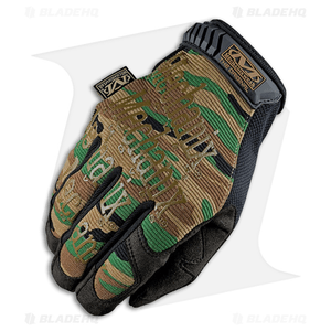 Mechanix Wear The Original Gloves All-Purpose (Woodland Camo)