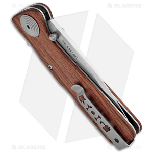 """SOG Twitch XL Wood Spring Assisted Knife (3.25"""" Satin) TWI24-CP"""