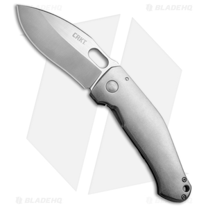 "CRKT Burnley Buku Frame Lock Knife SS (3.75"" Satin) 2460"