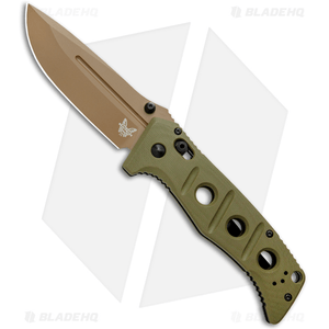 "Benchmade Adamas AXIS Lock Knife Olive G-10 (3.8"" FE) 275FE-2"