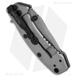 """Kershaw Cryo Assisted Opening Flipper Knife Black G-10 (2.75"""" Stonewash) 1555G10"""