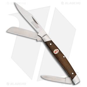 """Coleman Camper Slip Joint Pocket Knife 3.25"""" Brown Wood"""