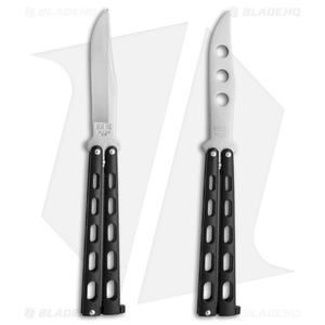 Bear & Son 2-Pack Butterfly Knife Special Black (114 + 114TR)
