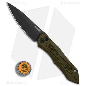 "Kershaw Launch 6 Automatic Knife OD Green (3.75"" Black) 7800OLBLK"
