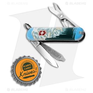 Victorinox Classic SD Swiss Army Knife Mt Rainier Natl Park