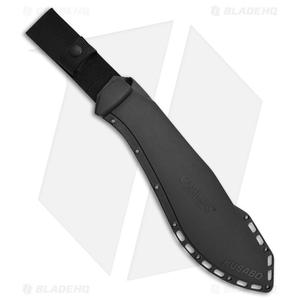 "Camillus Kusabo Machete Fixed Blade Knife Black GRN (11.75"" Black)"