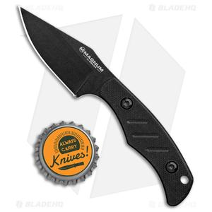 """Boker Magnum Nano Neck Bowie Knife (2.25"""" Black) 02MB202"""
