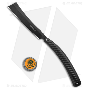 "Boker Magnum Black Barber Razor Folding Knife(4.75"" Black) 01MB731"