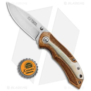 "Schrade Old Timer Spring Assisted Knife Desert Ironwood (3"" Mirror)"