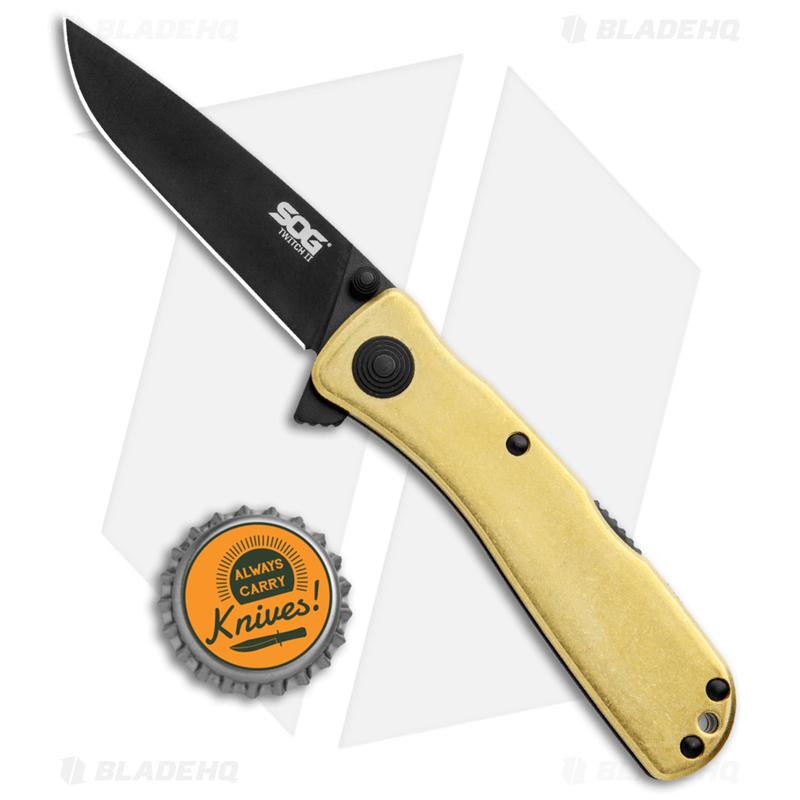 SOG-Twitch-II-Spring-Assisted-Knife-Brass--2.68--Black--TWI302-PB