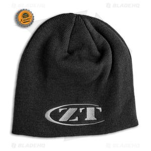 Zero Tolerance Black Acrylic Beanie w/ Gray Logo