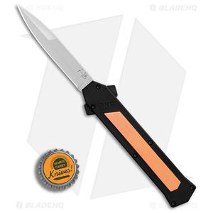 "AKC F-16 Bayonet D/A OTF Automatic Knife Copper (3.3"" Satin)"
