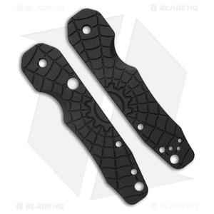 Smock Knives Scales For Spyderco Smock (Spydie Smock Black G10)
