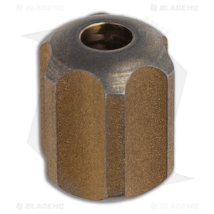 TiSurvival Slip Lanyard Bead - Bronze Anodized