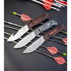 Benchmade Saddle Mountain Skinner Knife G10 Hunting Fixed Blade 15001-1
