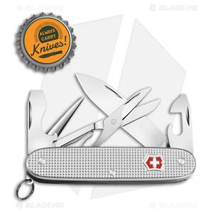 Victorinox Pioneer X Swiss Army Knife Silver Alox (9-in-1)