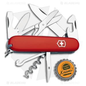 Victorinox Swiss Army Knife Climber Red w/ Sheath 53381